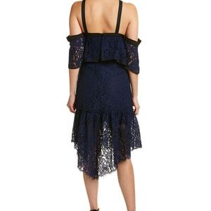 Adelyn Rae Dresses - Adelyn Rae Tracy Cold Shoulder Lace Dress